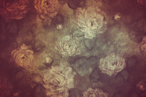 Free Vintage Floral Wallpaper Background